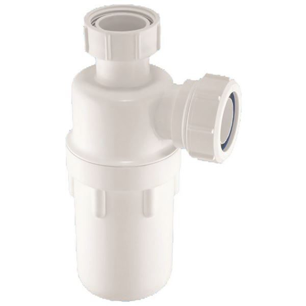 "1 1/2"" Plastic resealing bottle trap"