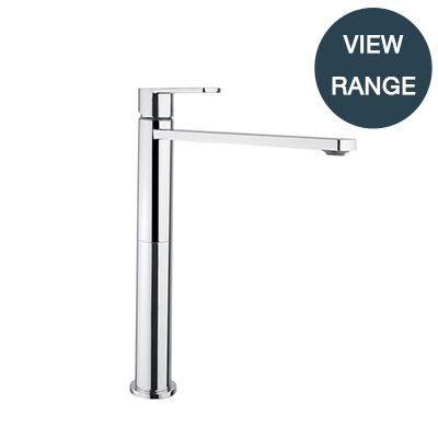 SanCeram Hartley tall mono basin mixer tap