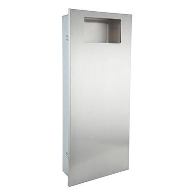 Elite recessed waste bin
