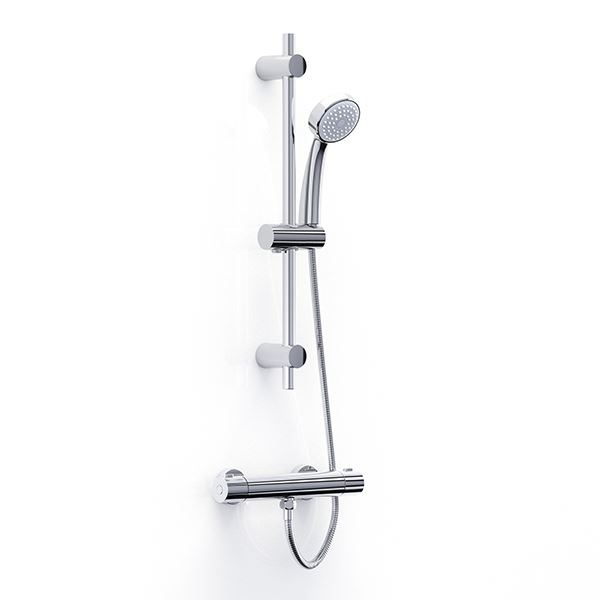Trade-Tec Bar Shower with Kit - TR10032CP