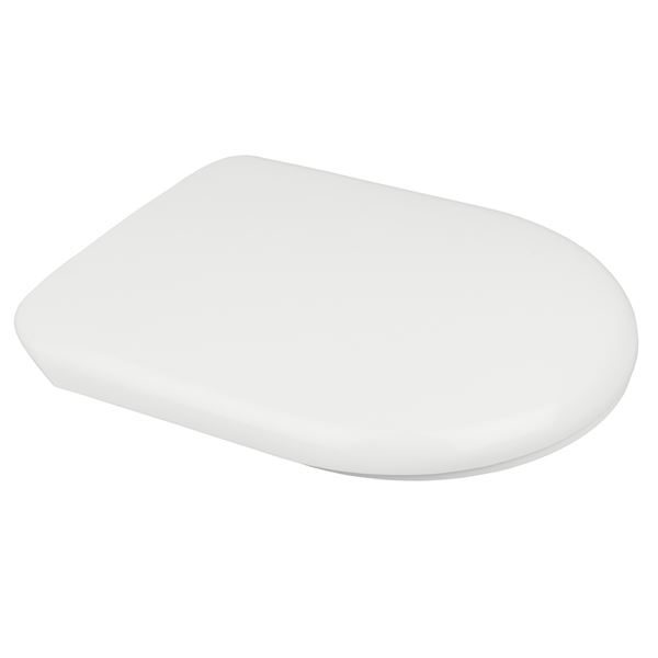 Chartham Standard Toilet Seat & Cover in White - CHWC109