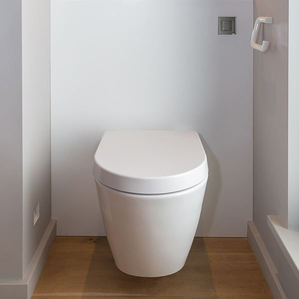 SanCeram Langley soft close toilet seat and cover