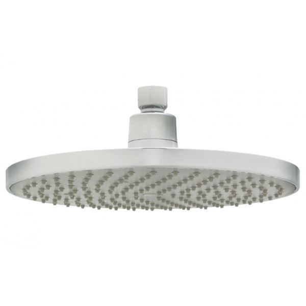 SanCeram 200mm circular shower head with swivel