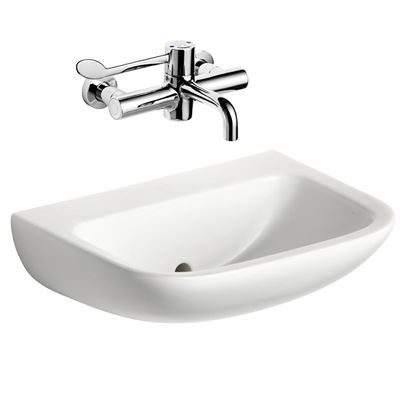 Armitage Shanks Contour 21 washbasin 500mm wall hung