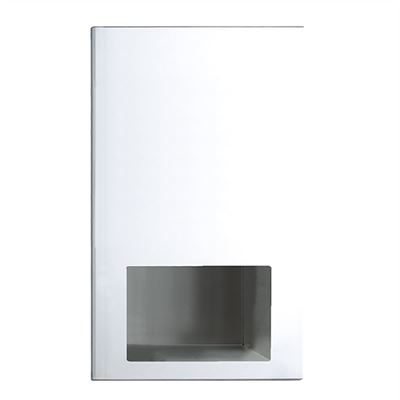 Elite recessed warm air dryer