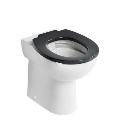Armitage Shanks Contour 21 rimless 480 high pan. Doc M compliant raised height toilet.