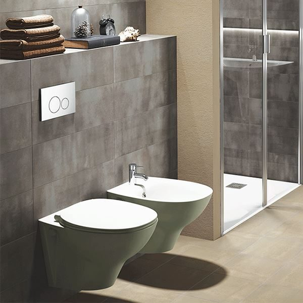 Chartham Beyond wall hung rimless WC pan