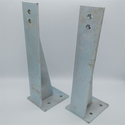 SanCeram support brackets for wall hung WC pans - TSWC117