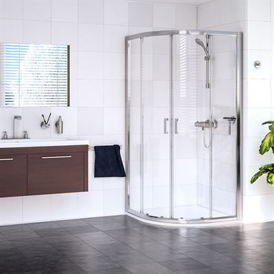SanCeram 2 door quadrant shower enclosure