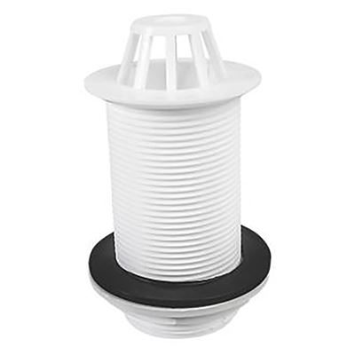 "1 1/2"" Domed plastic urinal waste"