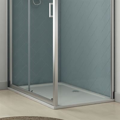 SanCeram rectangular shower tray