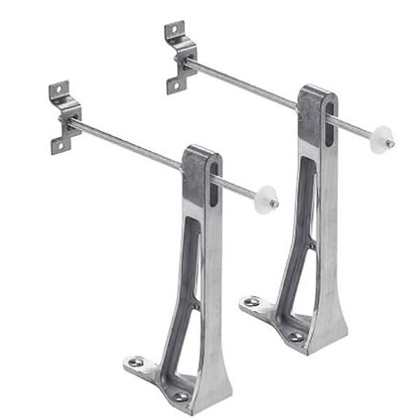 Support brackets and fixings for wall hung WCs - E006067