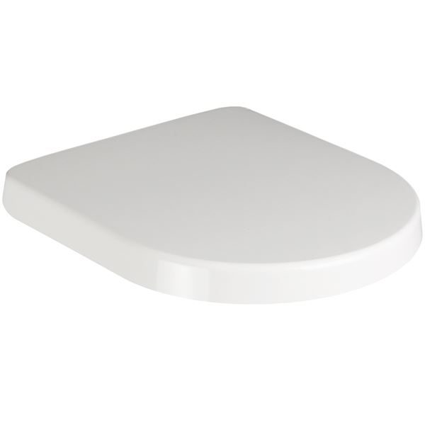 SanCeram Langley soft close toilet seat and cover – white toilet seat