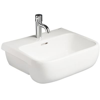 SanCeram Marden 520 semi recessed sink – vanity basin with two tap holes