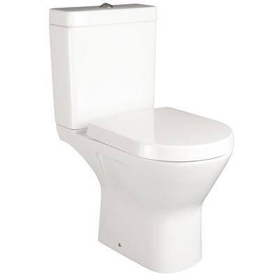SanCeram Langley close coupled toilet pan