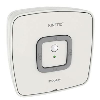 Thomas Dudey Kinetic urinal sensor flush control - White