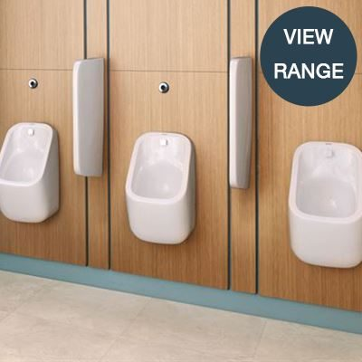 Sanitary ware urinals for schools, commercial sectors