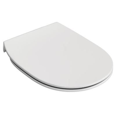 Ideal Standard Concept slim soft close toilet seat and cover - white toilet seat""