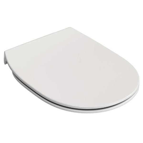 """Ideal Standard Concept slim soft close toilet seat and cover - white toilet seat"""""""