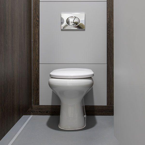 Chartham Back to Wall Toilet Pan at Merthyr Tydfil Bus Station