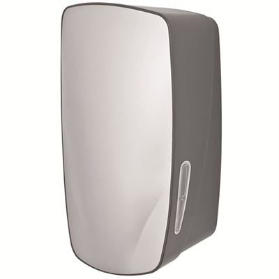 Lockable multiflat toilet tissue dispenser