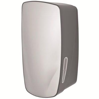 Lockable multiflat toilet tissue dispenser