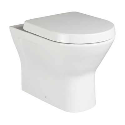 Langley Back to Wall Rimless Toilet Pan - LLWC102