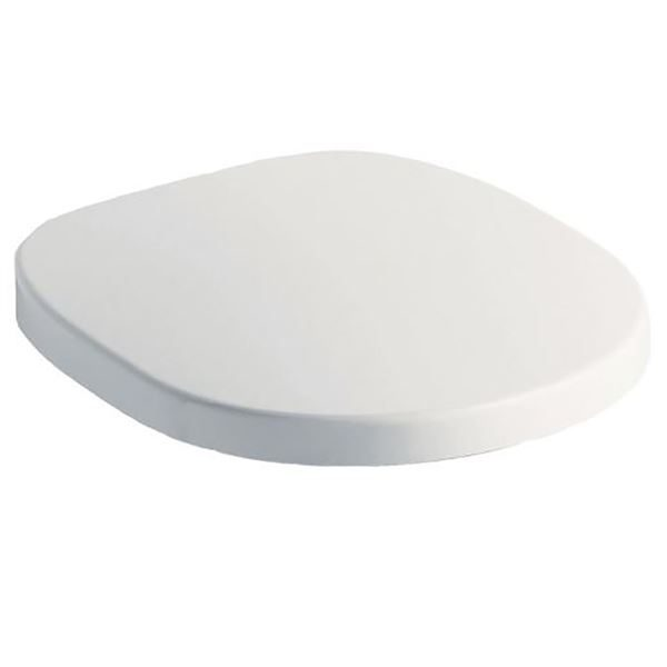 Ideal Standard white soft close toilet seat for use with Concept toilets