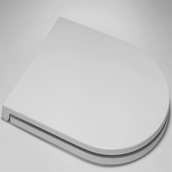 Langley slim soft close toilet seat for Langley close coupled, wall-hung and back to wall toilets