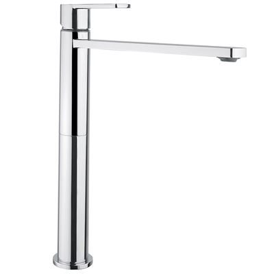 SanCeram Hartley tall mono basin mixer tap - Chrome