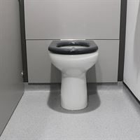 SanCeram Chartham rimless 480mm high WC at Leventhorpe Academy