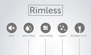 Rimless WC Technology