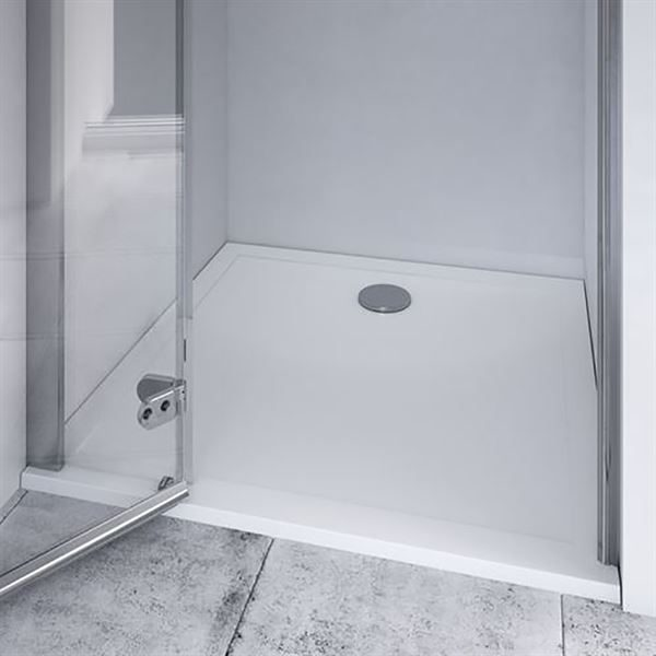 SanCeram square shower tray