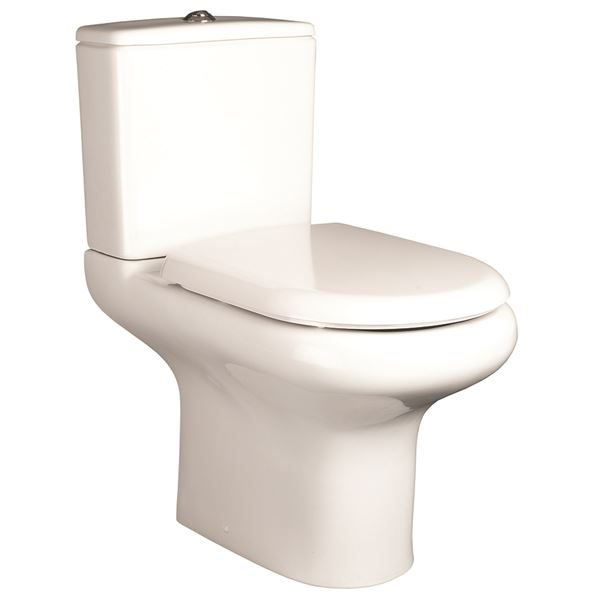 SanCeram Chartham WC toilet system with cistern, soft close seat and cover