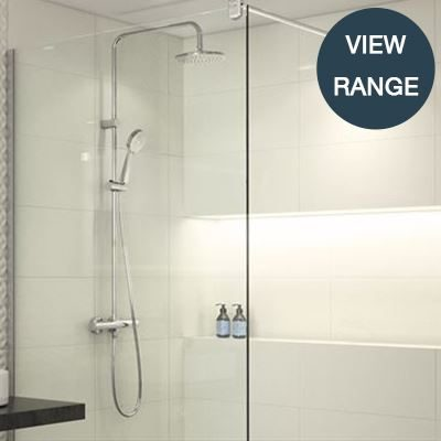 Shower sanitary ware for healthcare, commercial, residential sectors