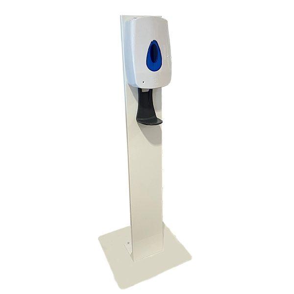 Metal Automatic Soap Dispenser Stand - White - FS003