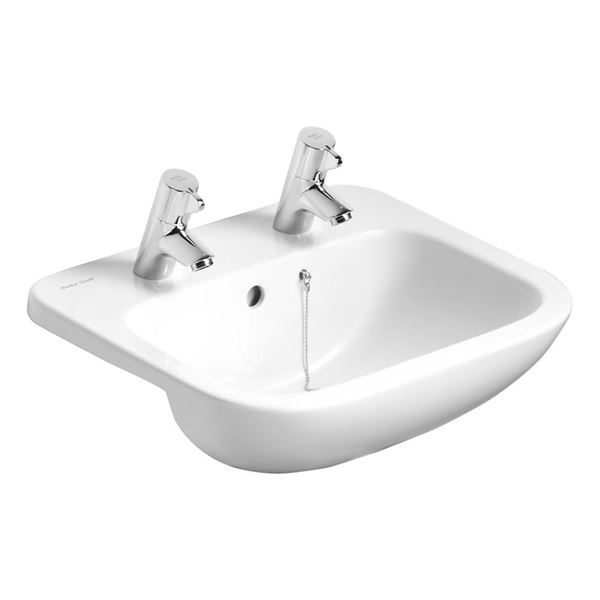 Armitage Shanks semi recessed basin 500mm - Armitage Shanks Profile 21