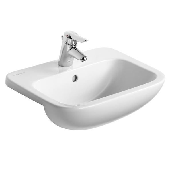 Armitage Shanks semi-recessed basin 500mm - Armitage Shanks Profile 21