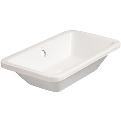 SanCeram Marden 560 inset countertop basin or ceramic undermount sink